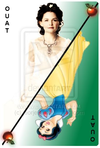 OUAT Card Snow White by ~jeorje90 on deviantART
