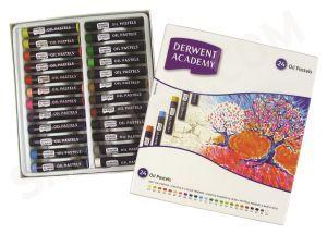 Derwent Academy Yağlı Pastel Boya 24 Renk