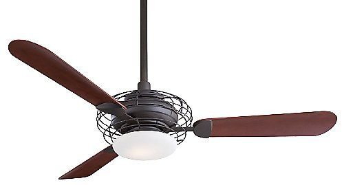 Acero Ceiling Fan with Light by Minka Aire Fans at Lumens.com