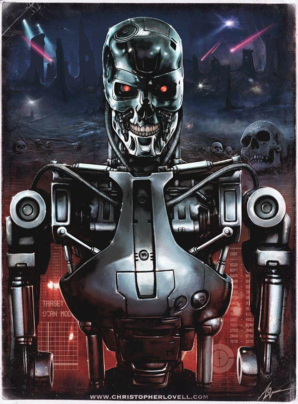 T-800 Terminator Endo Skeleton by Lovell-Art on DeviantArt