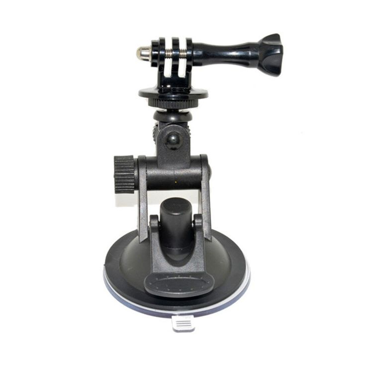 Car Suction Cup Mount Holder For Gopro Car Mount Holder Tripod Mount Adapter & Gopro Hero 34 Accessories XiaomiYi Camera