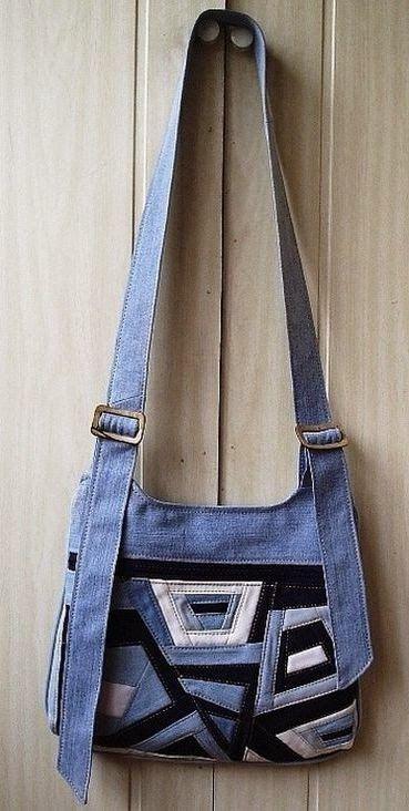 Подборка идей по шитью из джинсовой ткани. Сумки, одежда. Made of Jeans Denim