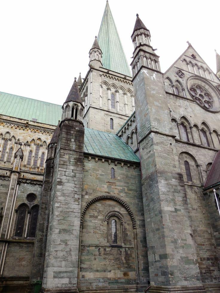 Central tower at Nidaros Cathedral.