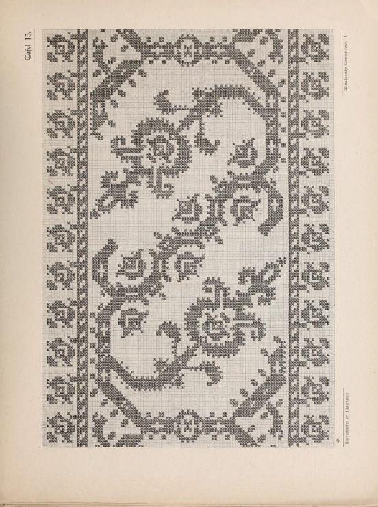 Gallery.ru / Фото #50 - Musterbucher altitalienischer Leinen Stickerei 1881 - shtushakutusha