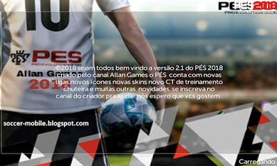Download FTS 18 Mod PES 2018 v2.1 By Allan Games