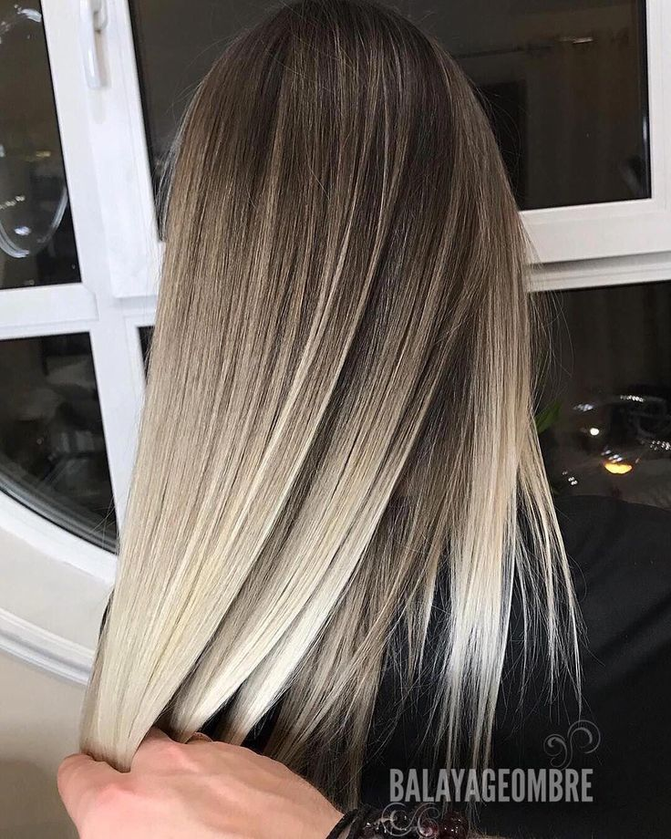 Stilvolle Ombre Balayage Frisuren Für Mittellanges Haar