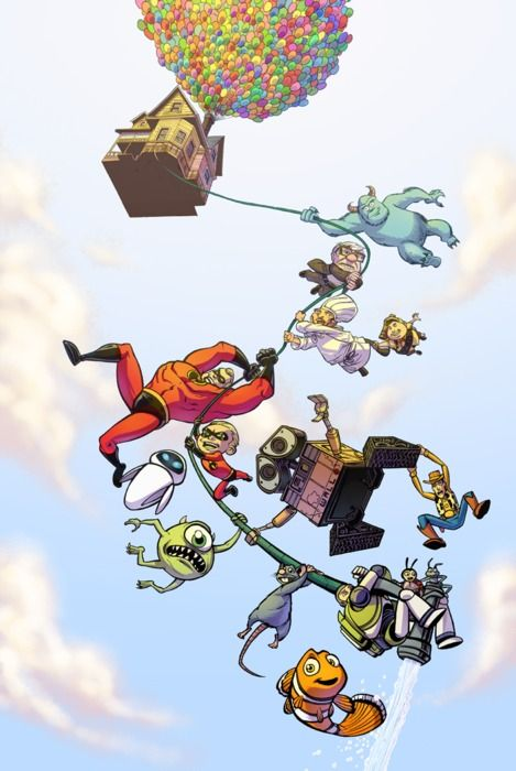 This is awesome.... All Pixar put into one!