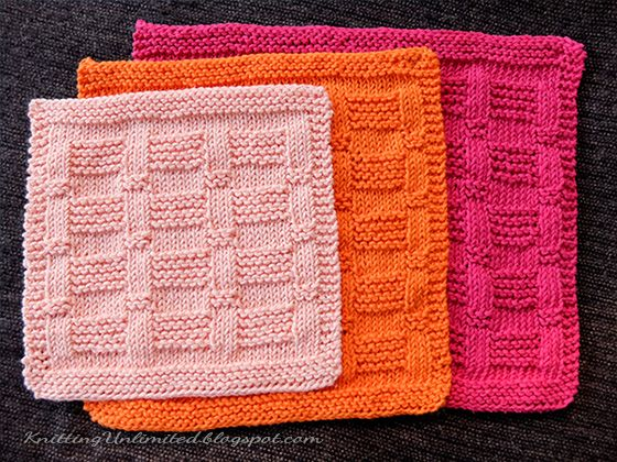 Knitting Dishcloths Easy : Best images about knooking knitting with a crochet