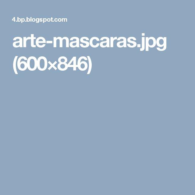 arte-mascaras.jpg (600×846)