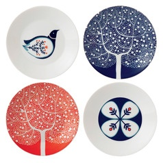 Royal Doulton Fable 16cm Accent Plates, Set of 4