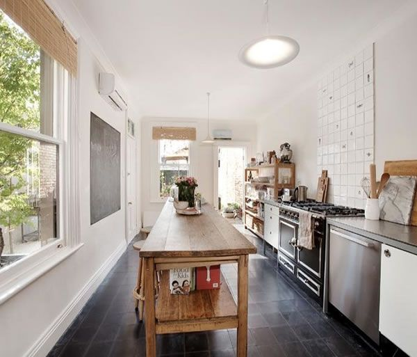 The 25+ Best Long Narrow Kitchen Ideas On Pinterest