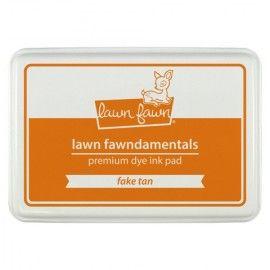 Tinta secado rapido dolor naranja de la marca Lawn Fawn.