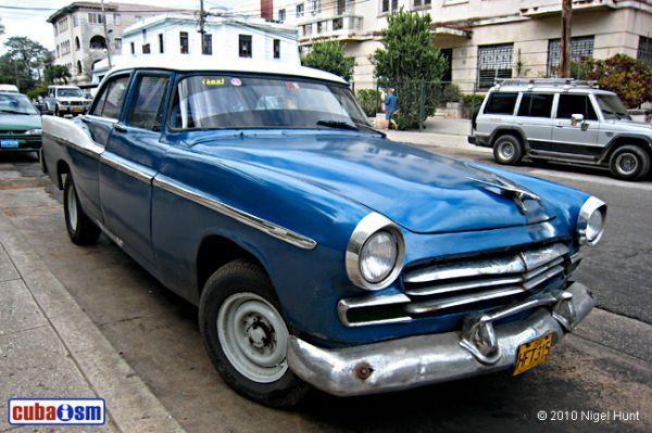 Chrysler Cars in Cuba. Windsor