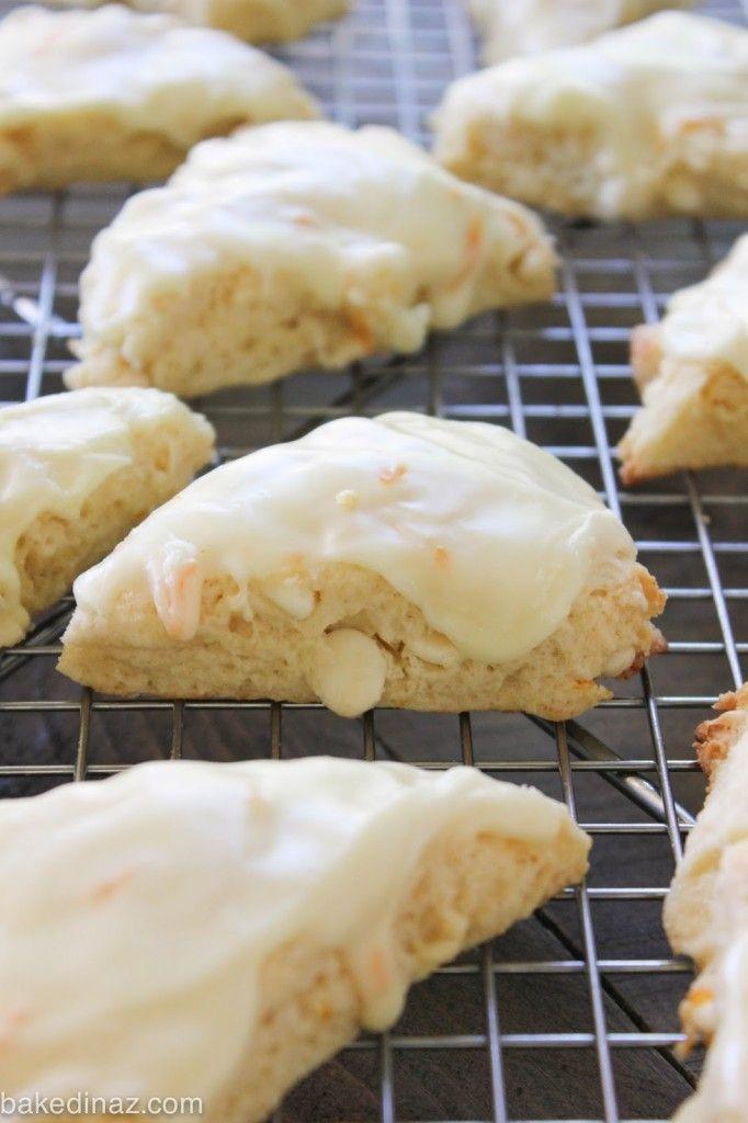 Orange Creamsicle Scones - Baked in AZ