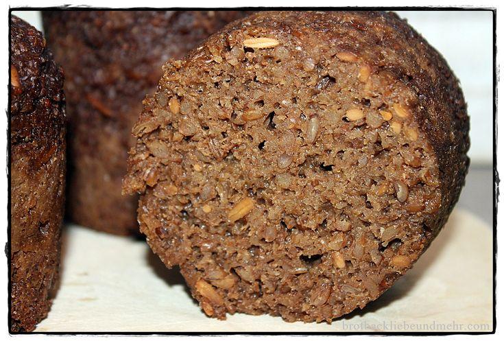 brotbackliebeundmehr - Foodblog - Original Pumpernickel aus dem Weckglas*****