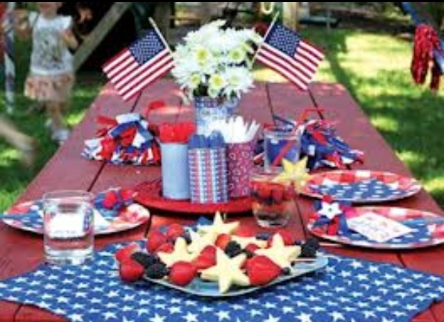 34 Best 4th Of July Decoration Ideas Images On Pinterest