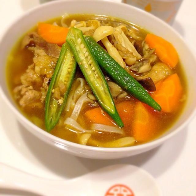 無性に食べたくなって。カレールーは使わず、いりこだしベースの麺つゆとスパイスを組み合わせて。 - 10件のもぐもぐ - カレーうどん by kikicyoko