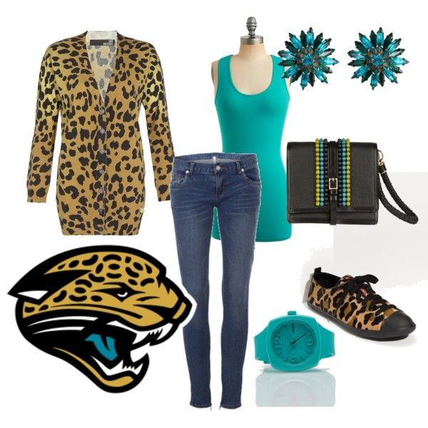 My PERFECT tailgating outfit! Go Jags!