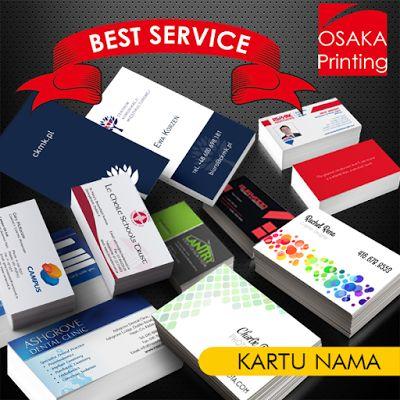 Osaka Printing: KARTU NAMA MURAH BERKUALITAS