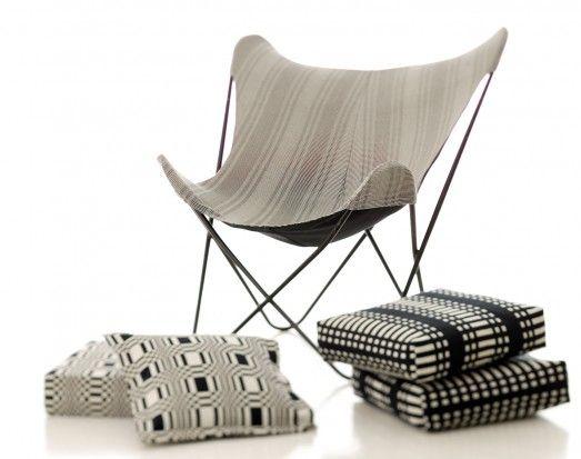 Butterfly Seat Cover & Cushions / Johanna Gullichsen