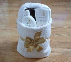 towel origami basket step 8