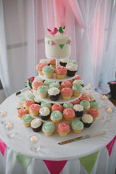 Country Fair Wedding: Cupcakes
