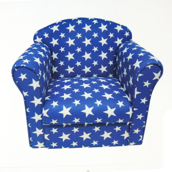 Kids Stars Armchair Is Bright And Fun, Making It A Perfect Addition To Your  Childu0027s Room. Stylishly Designed On A Bright Blue Base With White Starsu2026