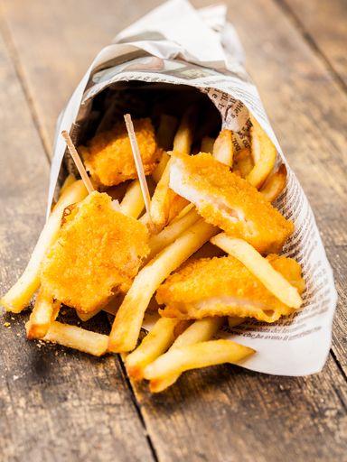 Fish and Chips (la vraie pâte à friture anglaise) - Recette de cuisine Marmiton : une recette