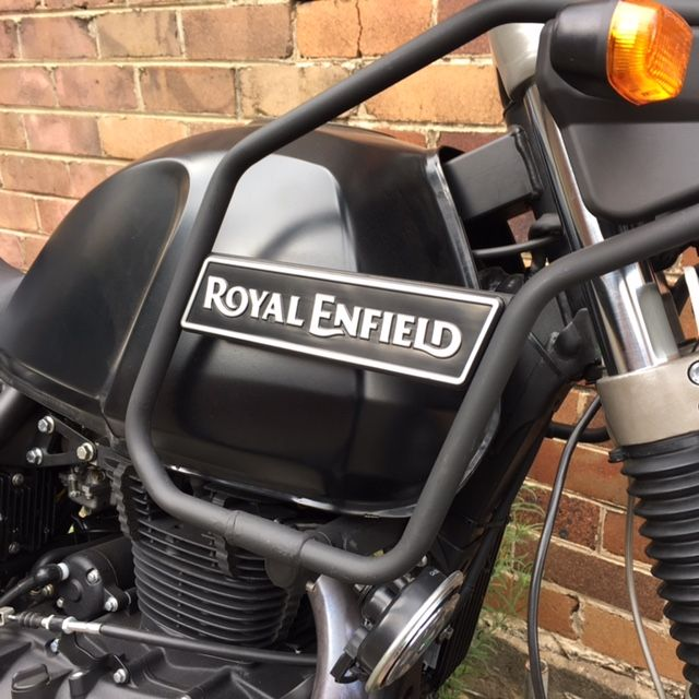 Royal Enfield Himalayan tank guard.  Graphite.