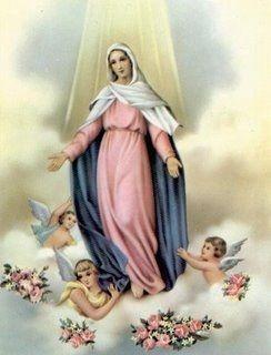 A Assunção de Nossa Senhora celebra-se a 15 de Agosto                                                                                                                                                                                 Mais