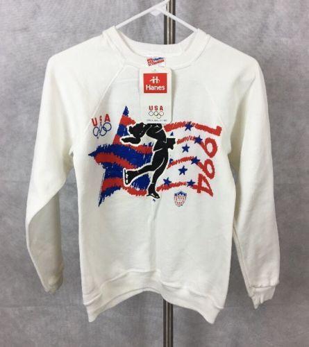 OLYMPIC TEAM USA ICE SKATING Girls L (14/16) Nwt Sweatshirt. 553