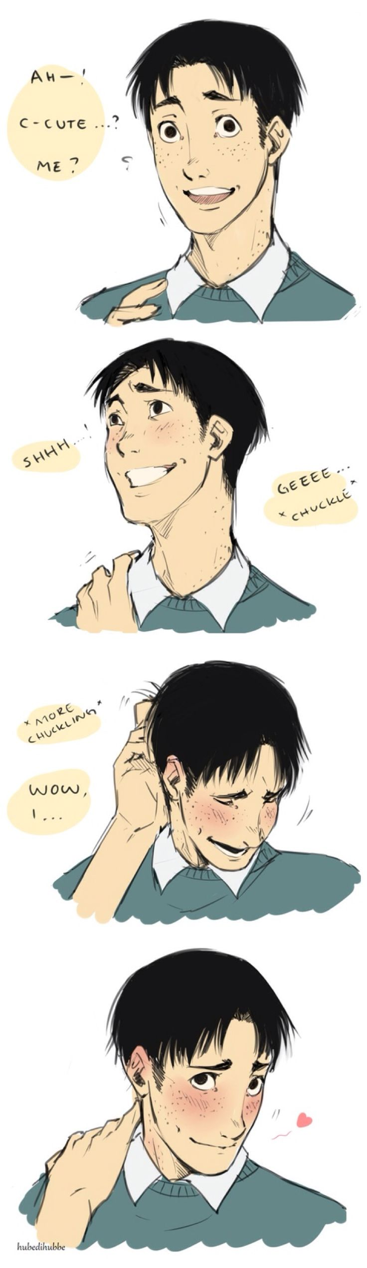 Ahh~ Marco, is it impossible for you NOT to be cute? *swoons 1000x over and over*
