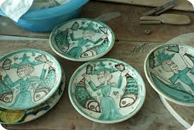 tin glazed earthenware