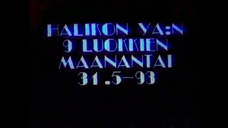 Halikon Yläasteen 9-luokkalaisten päivä 31.5.1993