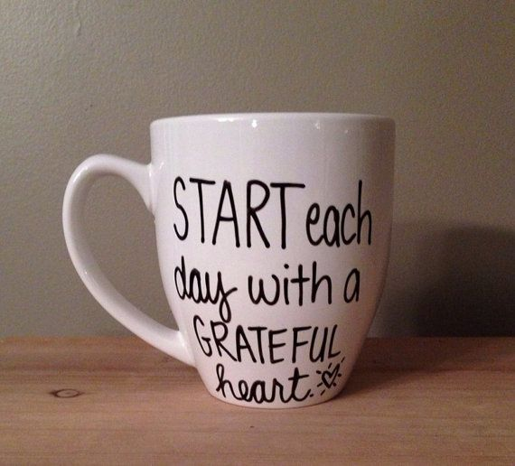 Start each day with a grateful heart by simplymadegreetings