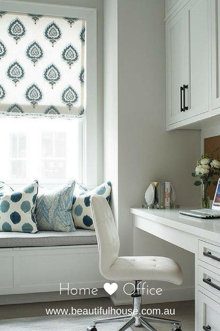 Beautiful House | Setting Up A Home Office | http://beautifulhouse.com.au