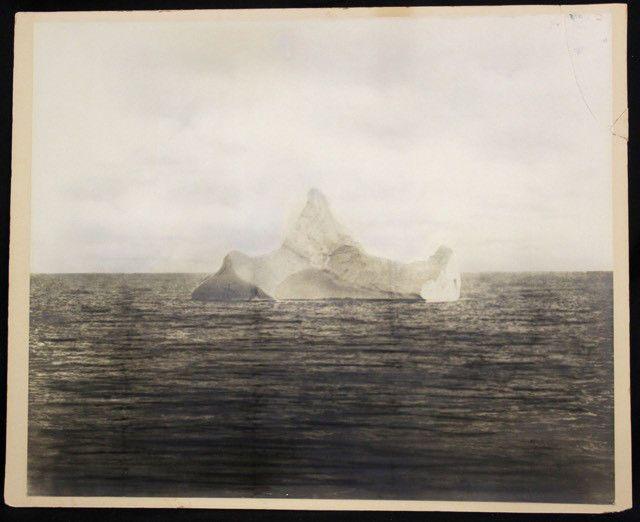 La foto del iceberg que hundió al Titanic