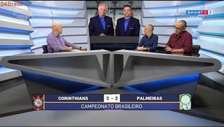 Pós Jogo Futebol Campeão   Corinthians 3 x 2 Palmeiras   Brasileirão 32ª Rodada   05/11/2017