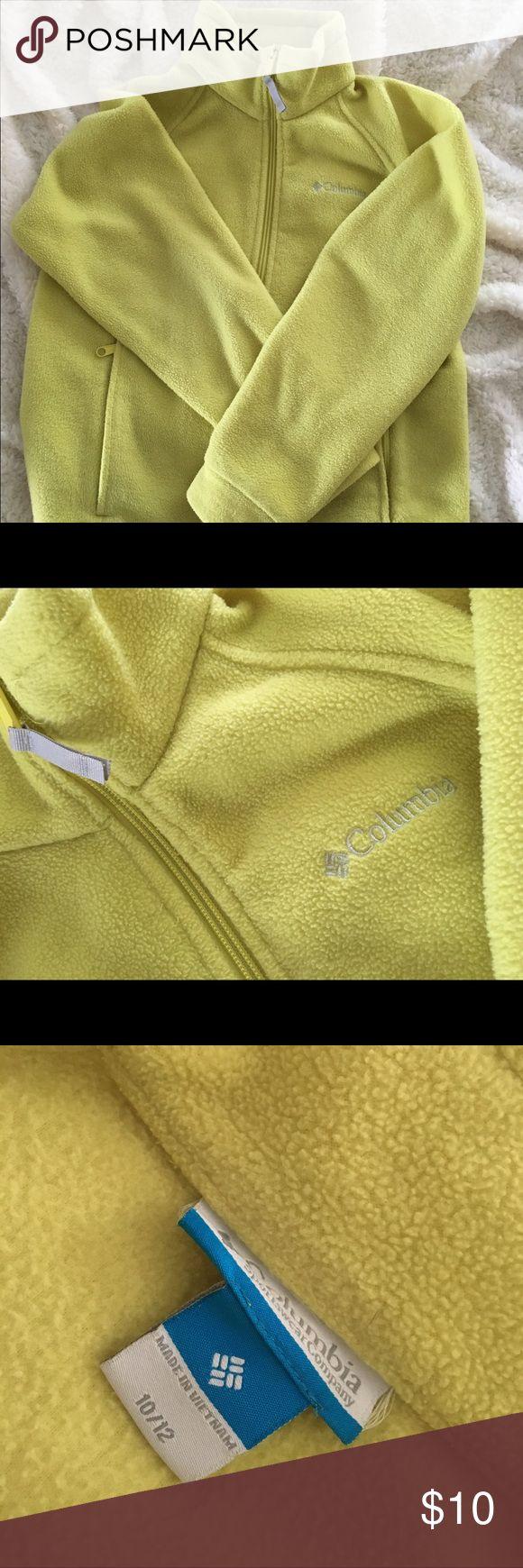 Columbia Kids Fleece Jacket Great color - 10/12 warm fleece Columbia Kids Jacket! Columbia Jackets & Coats