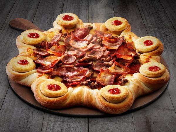Swedish Super Pizzas : Volcano Pizza