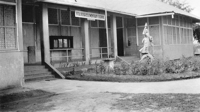 Old Santa Rosa Elementary School (1960's) by Gilbert Paul Diaz
