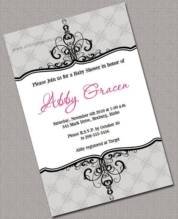 DIY Neutral Baby Shower Invitations Printable