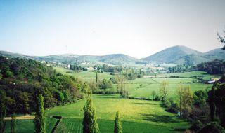 Point de vue depuis Les Grottes d'Isturitz et d'Oxocelhaya