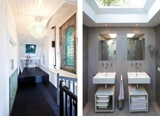 Casa de Deus | antiga igreja protestante em Veldhoven, na Holanda transformada em um criativo loft | LKSVDD