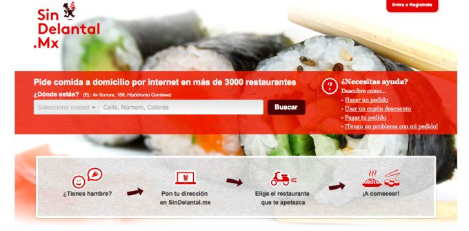 Just Eat Acquires Mexican Online Take-Out Ordering Service SinDelantal.Mx - http://feedproxy.google.com/~r/Techcrunch/~3/raMMlNaLlFY/
