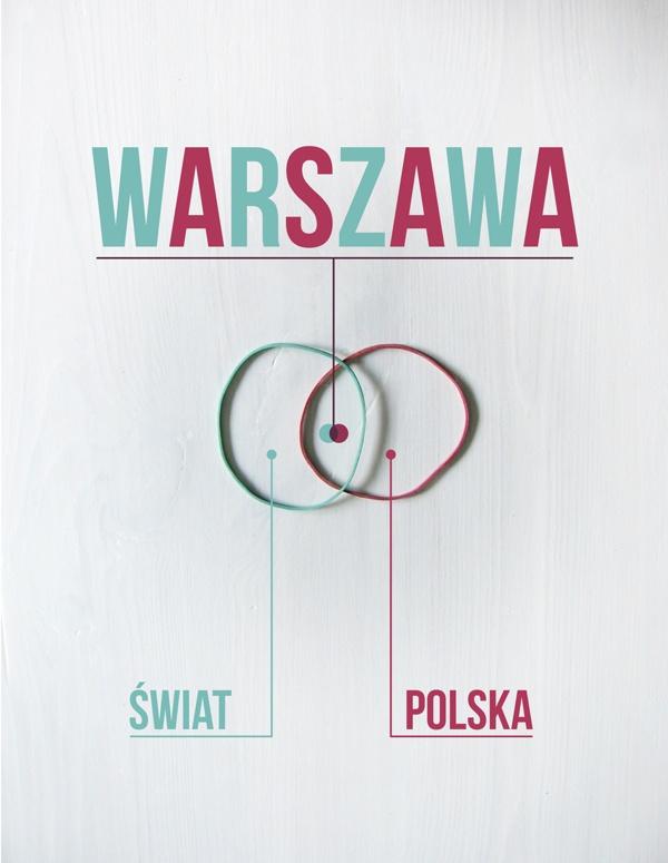 WARSAW POSTERS by Alina Rybacka-Gruszczyńska, via Behance