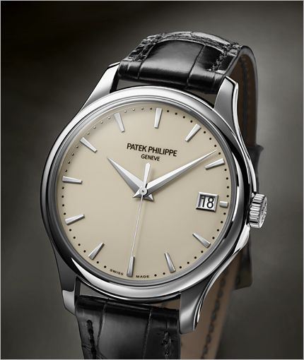 PATEK PHILIPPE SA - Calatrava Ref. 5227G-001 White Gold. (List Price: HK$241,400). Please contact us for your best price.
