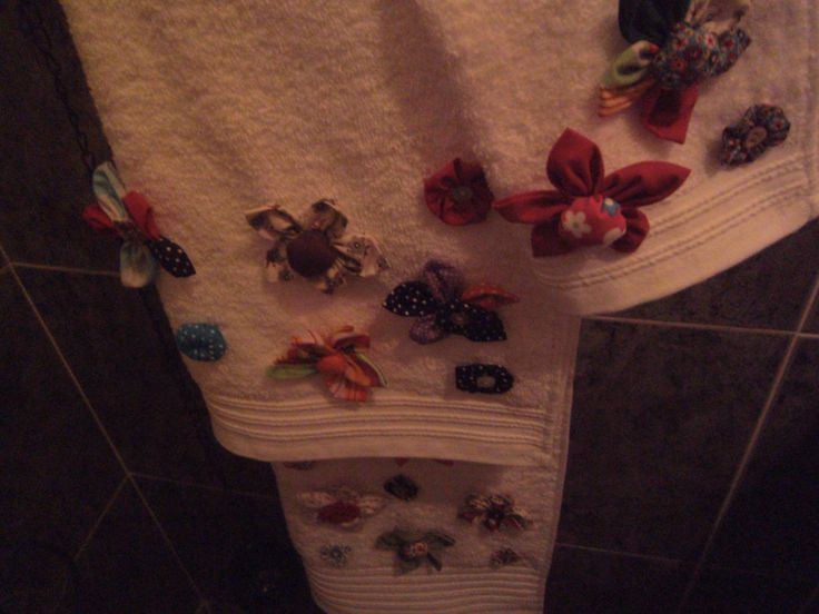 toalha com fixicos