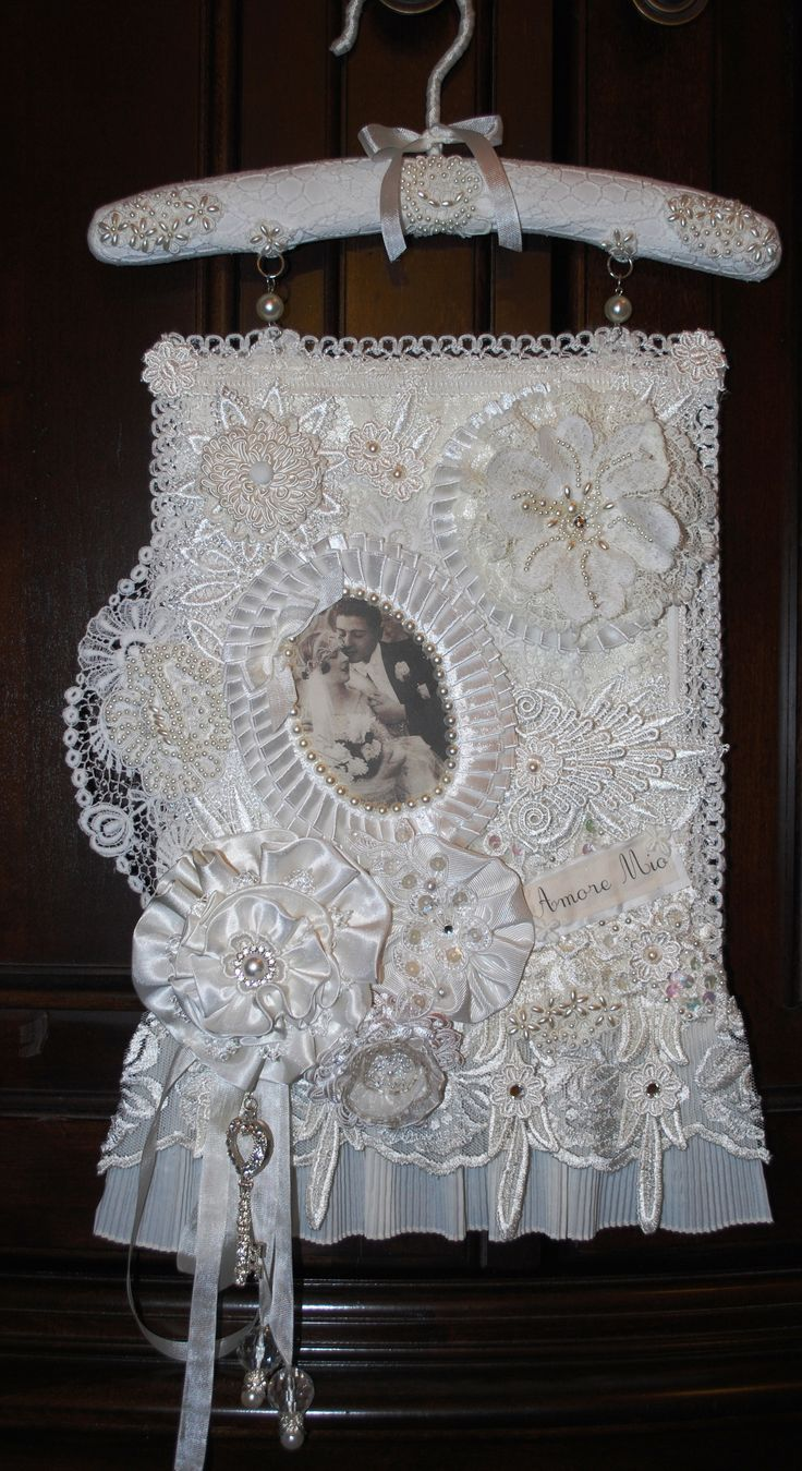 1000 Images About Fabric Lace Wall Hanging S On Pinterest