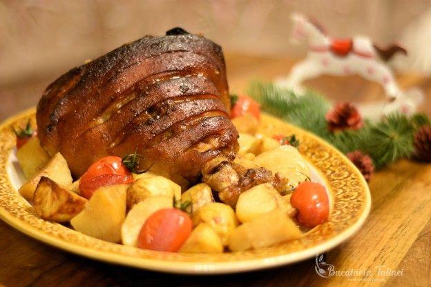 Ciolan de porc la cuptor în sos de bere | Bucataria Talinei